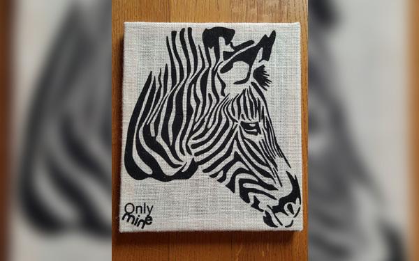 quadri-juta-zebra-arredamento-bar