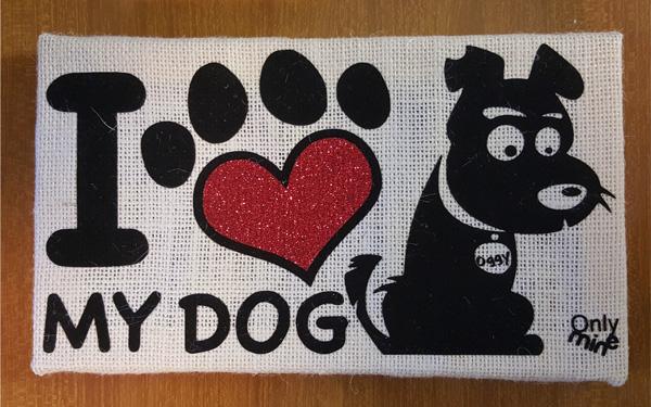 quadro-juta-I-love-my-dog
